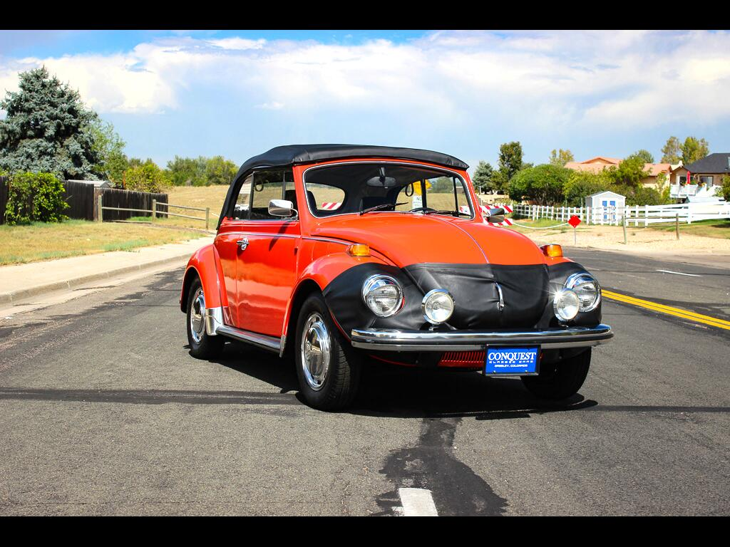 1972 Volkswagen Beetle Convertible
