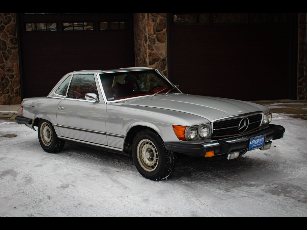 Mercedes-Benz 450 SL Convertible 1975