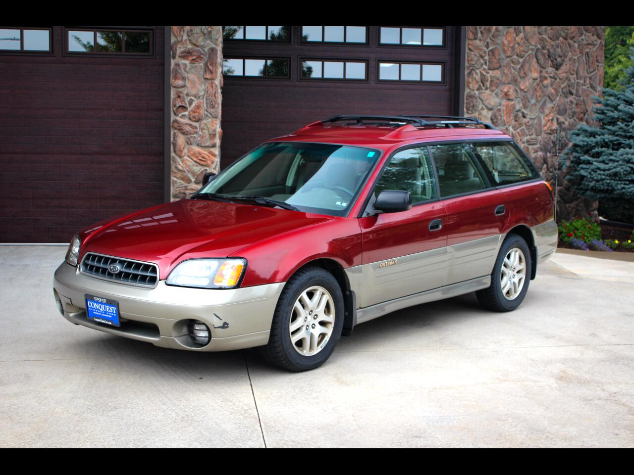 Subaru Outback Wagon w/ All-weather Package 2002