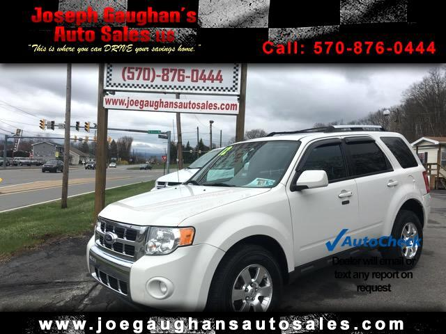 2012 Ford Escape Limited 4WD V6