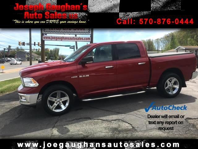 2010 Dodge Ram Pickup 1500 SLT Quad Cab Short Bed 4WD