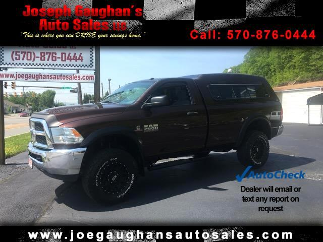 2014 RAM 2500 Tradesman Regular Cab 4WD