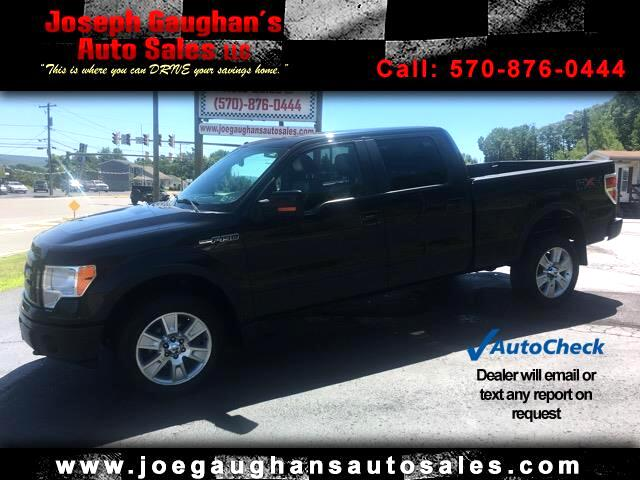 """2010 Ford F-150 SuperCrew 139"""" FX4 4WD"""