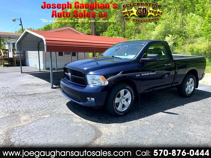 2012 Dodge Ram Pickup 1500 Reg. Cab Short Bed 4WD