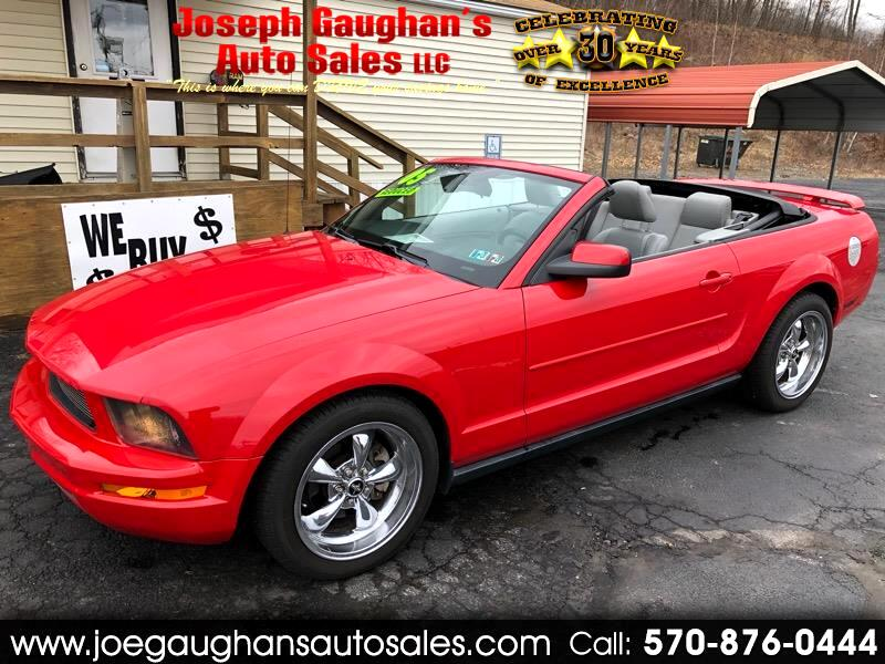 Ford Mustang 2dr Convertible Premium 2005