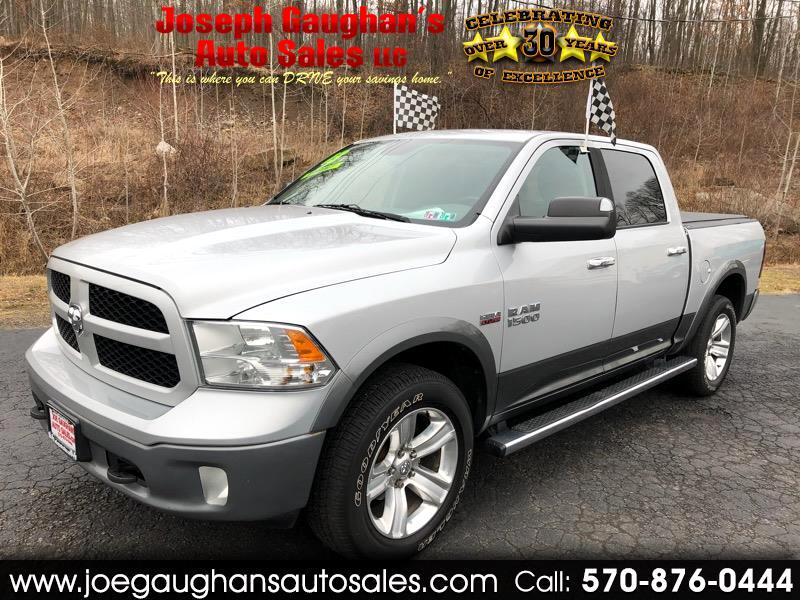 "RAM 1500 Outdoorsman 4x4 Crew Cab 5'7"" Box 2013"