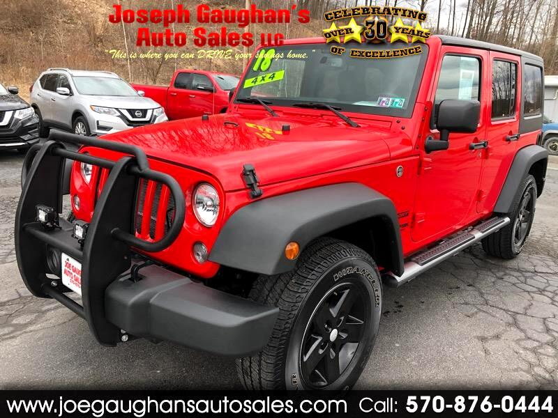 Jeep Wrangler JK Unlimited Sport 4WD 2018