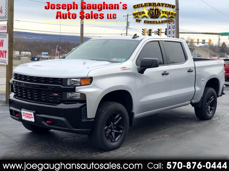 Chevrolet Silverado 1500 Custom Trail Boss Crew Cab Long Box 4WD 2019