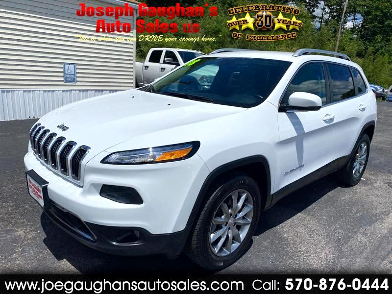 Jeep Cherokee Limited 4WD 2018