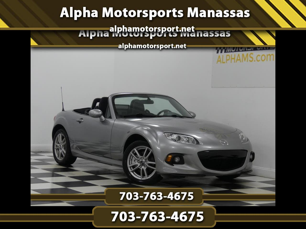 2014 Mazda MX-5 Miata Sport AT