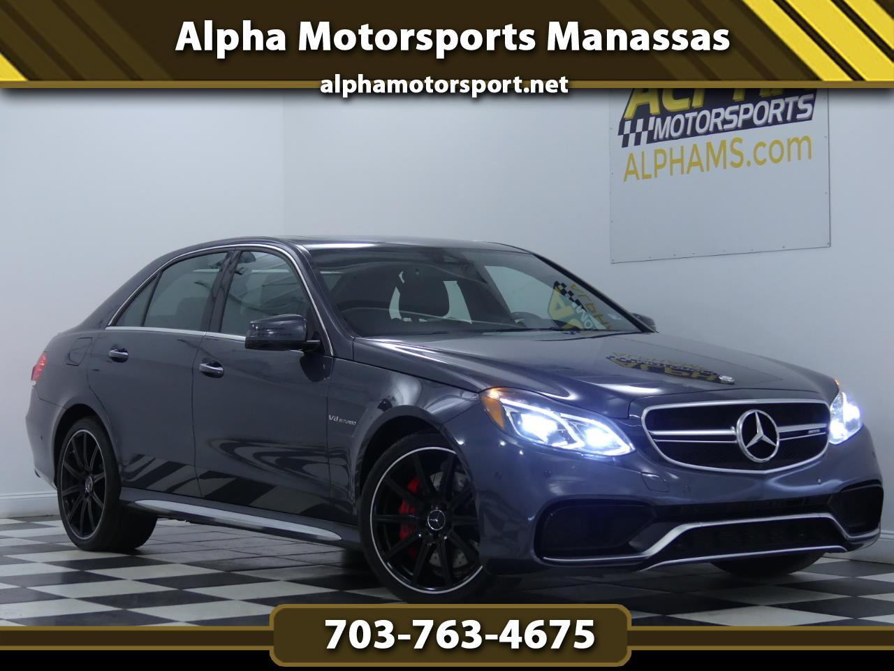 2015 Mercedes-Benz E-Class E63 AMG 4MATIC S-Model Sedan
