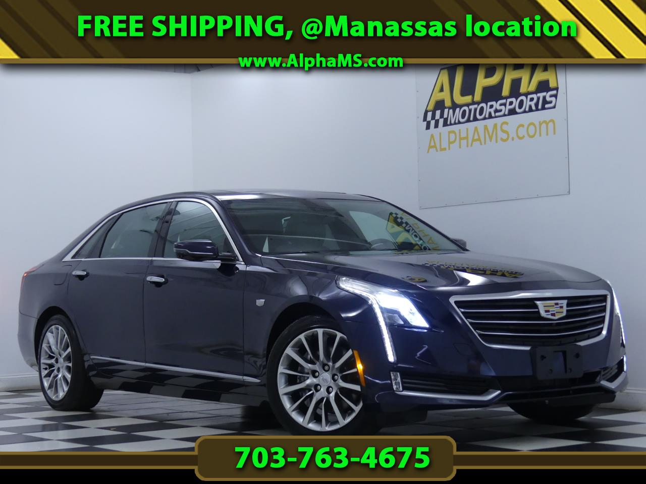 Cadillac CT6 3.6L Luxury AWD 2017