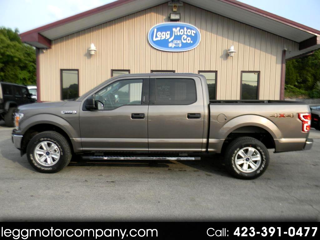 2019 Ford F-150 XLT SUPER CREW 4WD