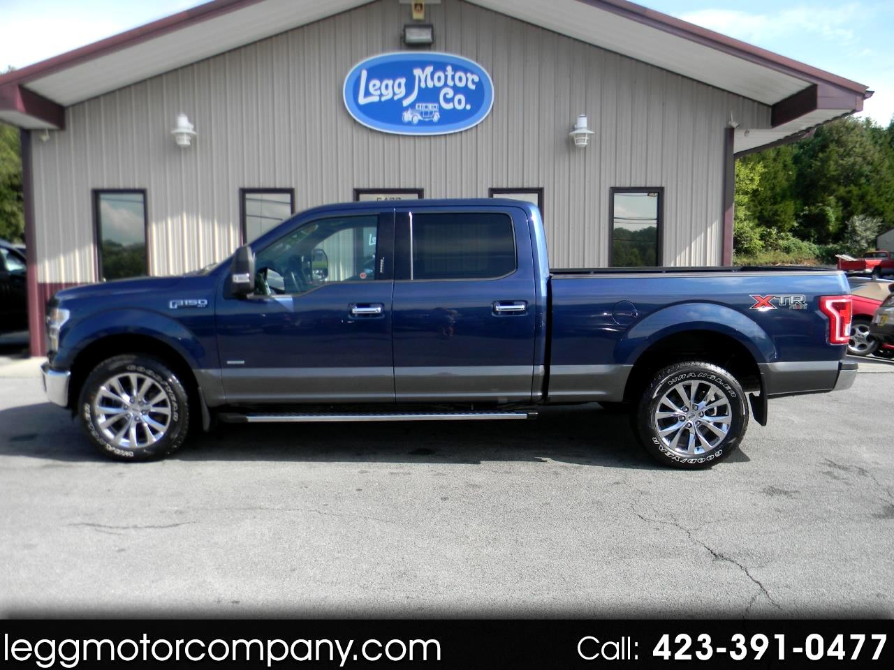 Ford F-150 XLT SuperCrew 6.5-ft Box 4WD 2016