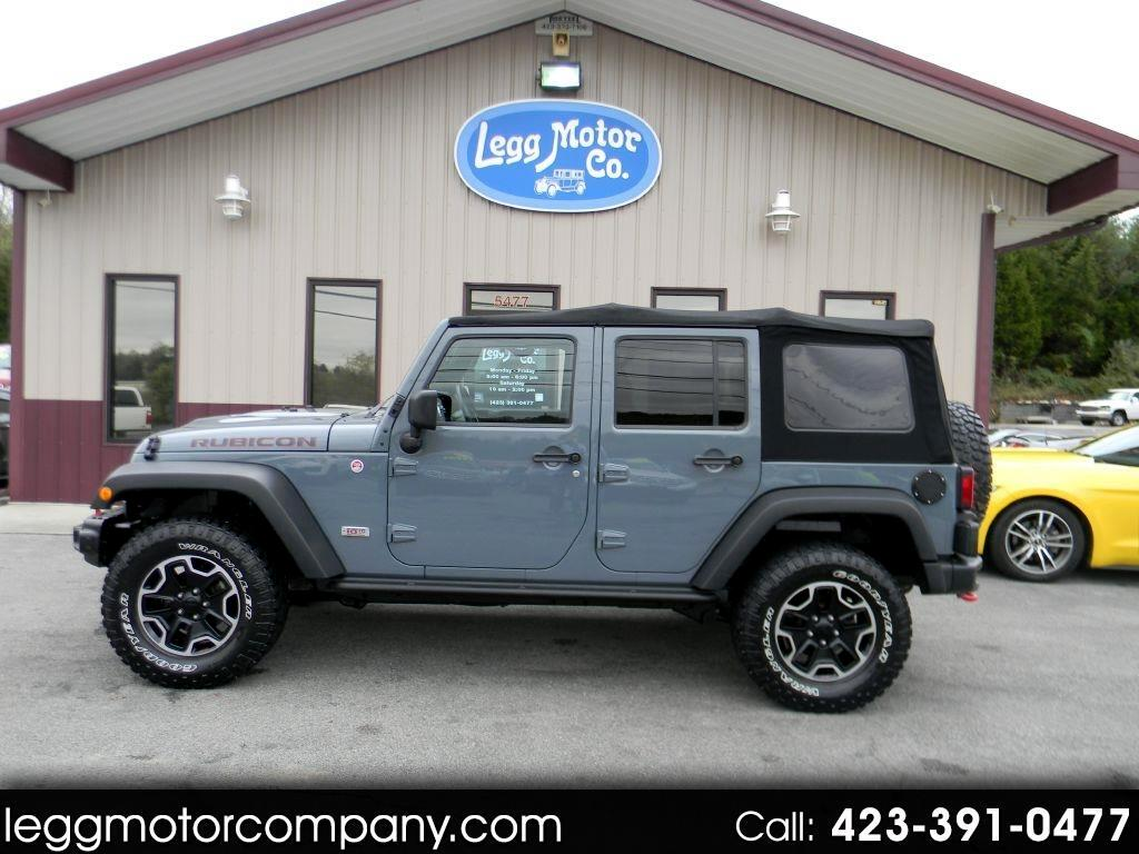 Jeep Wrangler Unlimited Rubicon 4WD 2013