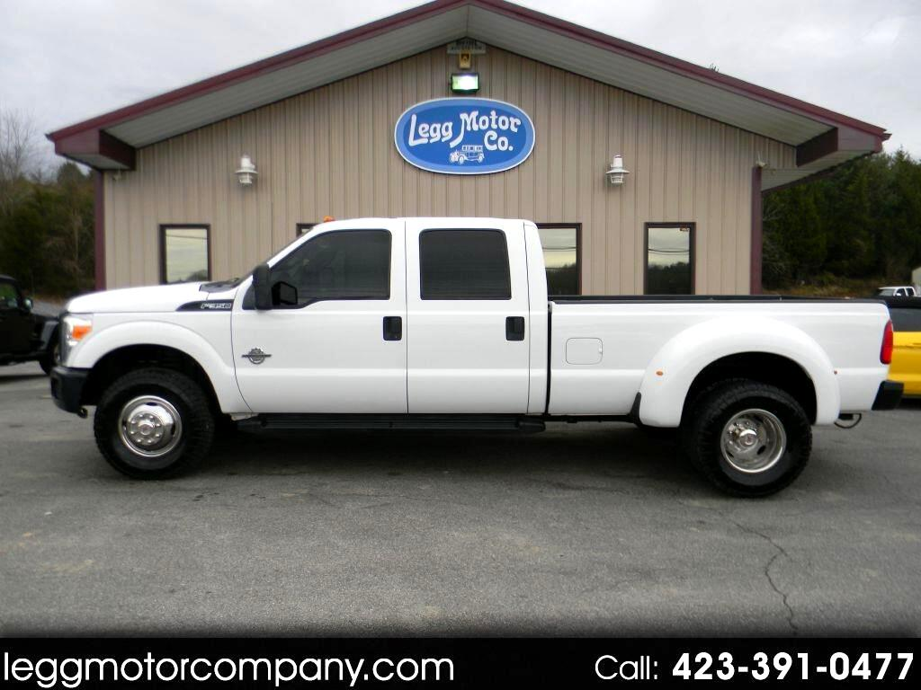 Ford F-350 SD XL Crew Cab Long Bed DRW 4WD 2011