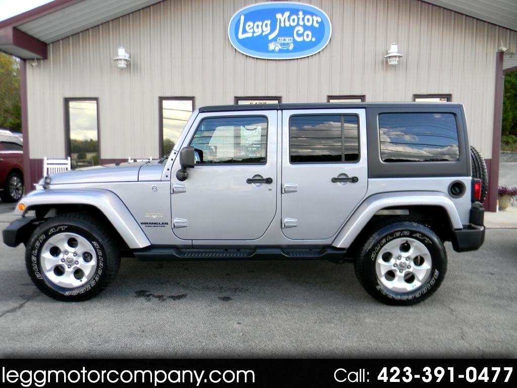 Jeep Wrangler Unlimited Sahara 4D SUV 4WD 2013