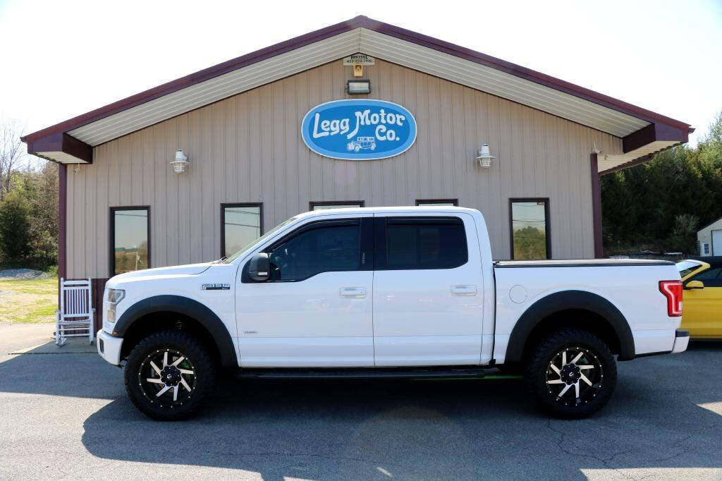 "Ford F-150 4WD SuperCrew 139"" XLT 2015"