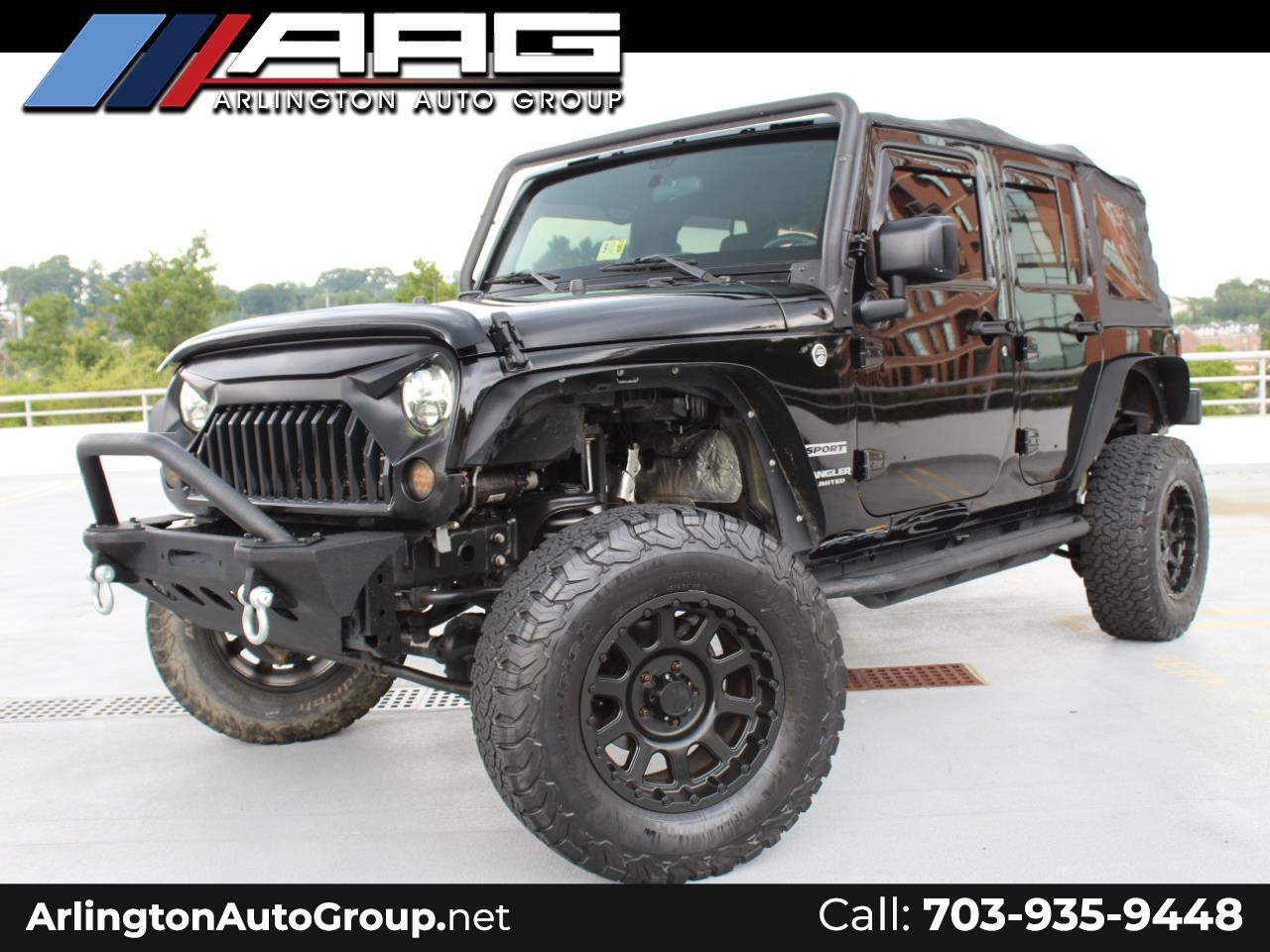 2015 Jeep Wrangler JK Unlimited Altitude 4x4