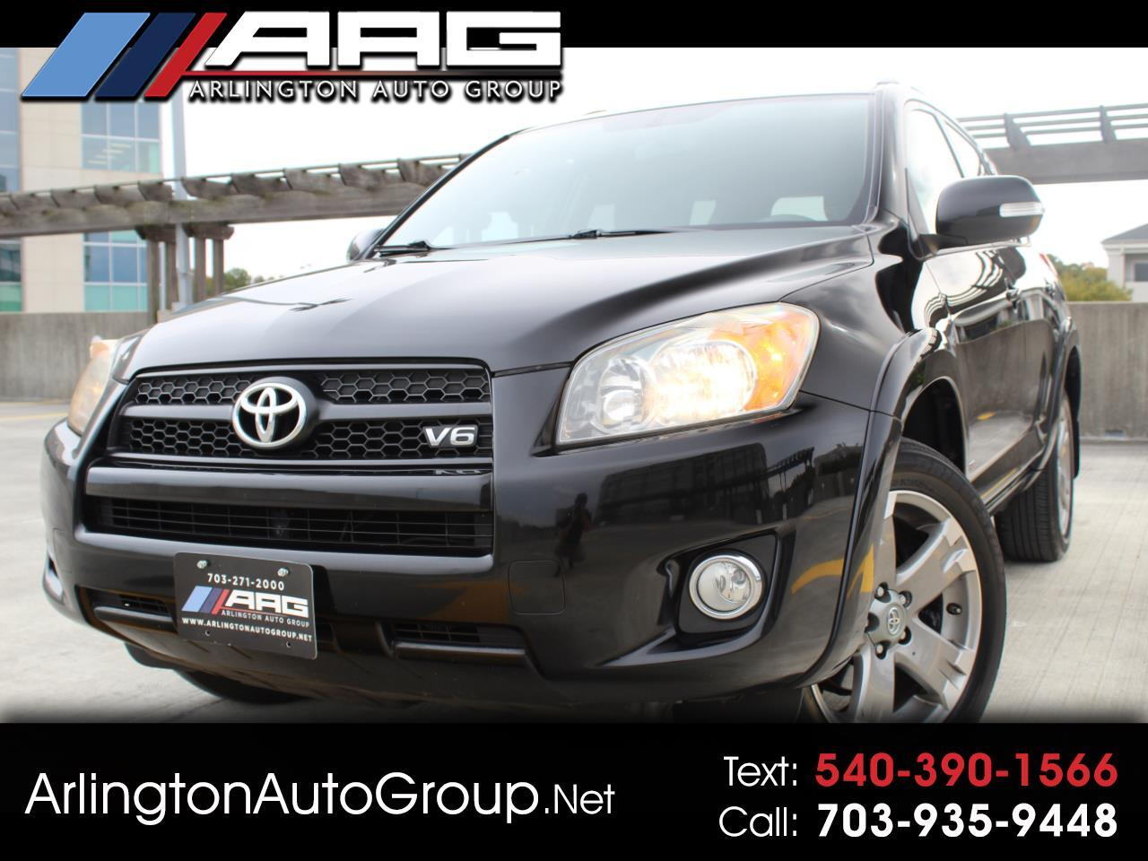 2011 Toyota RAV4 4WD 4dr V6 5-Spd AT Sport (Natl)