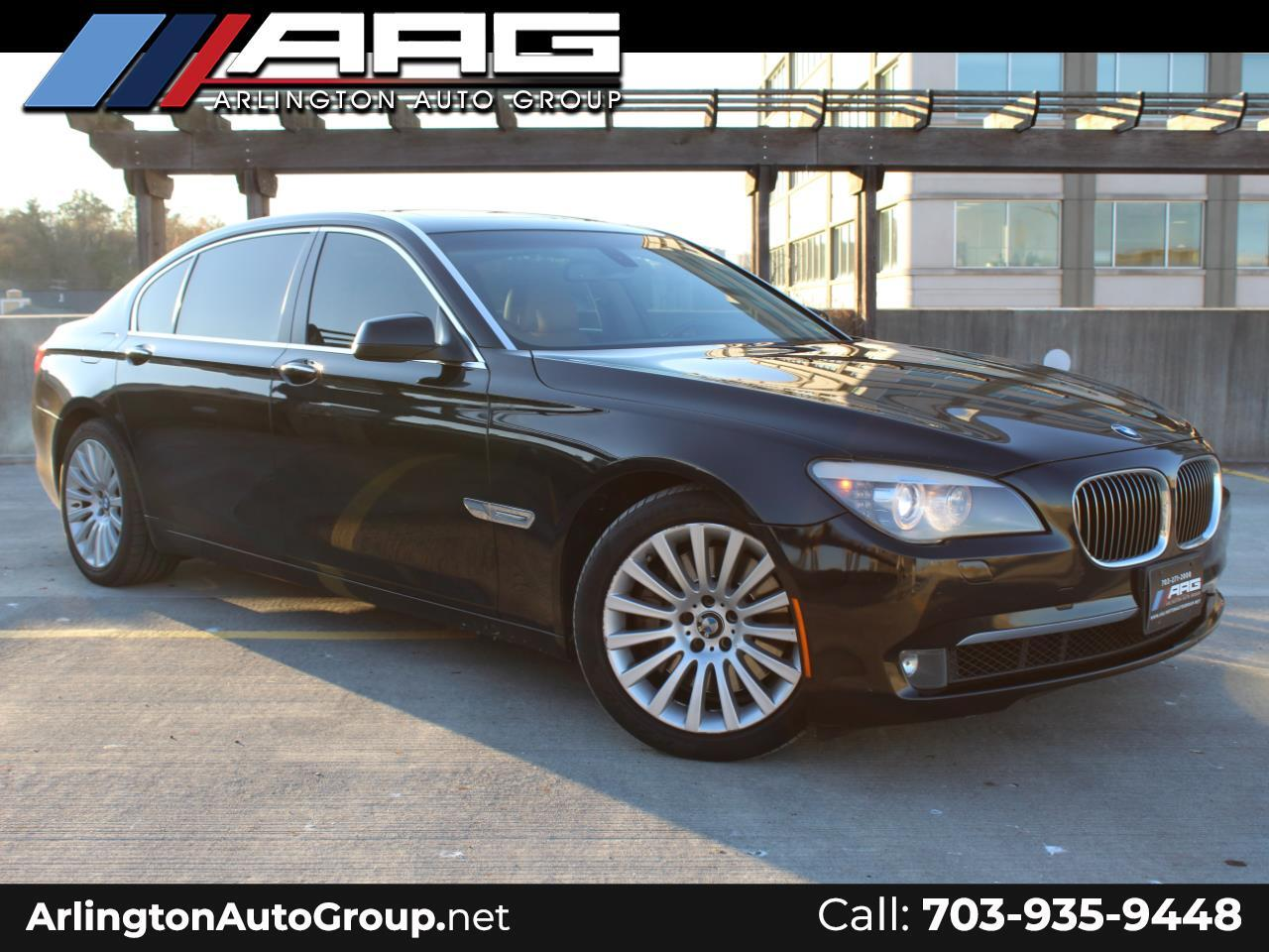 2009 BMW 7 Series 4dr Sdn 750Li