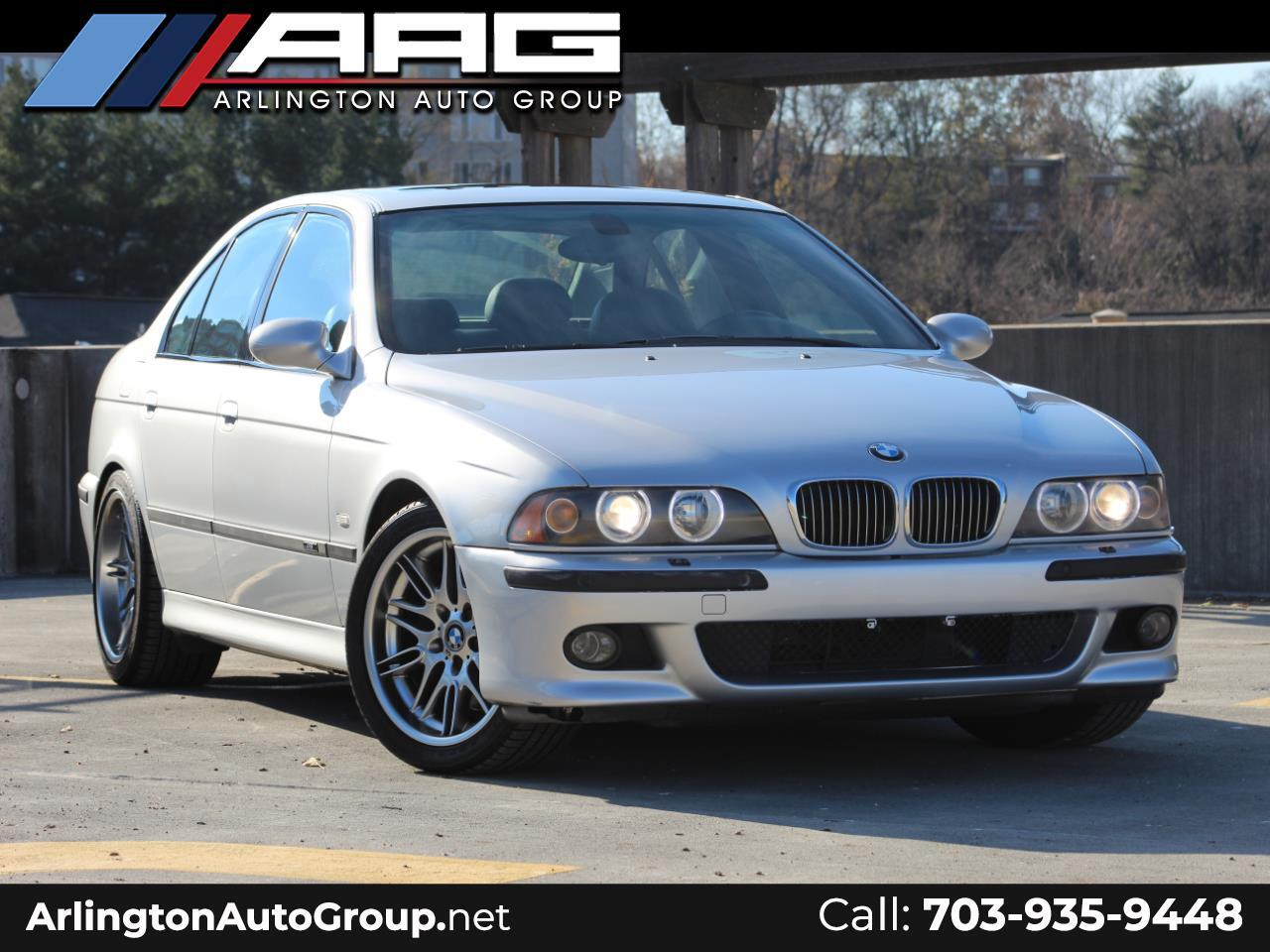 2002 BMW 5 Series M5 4dr Sdn 6-Spd Manual