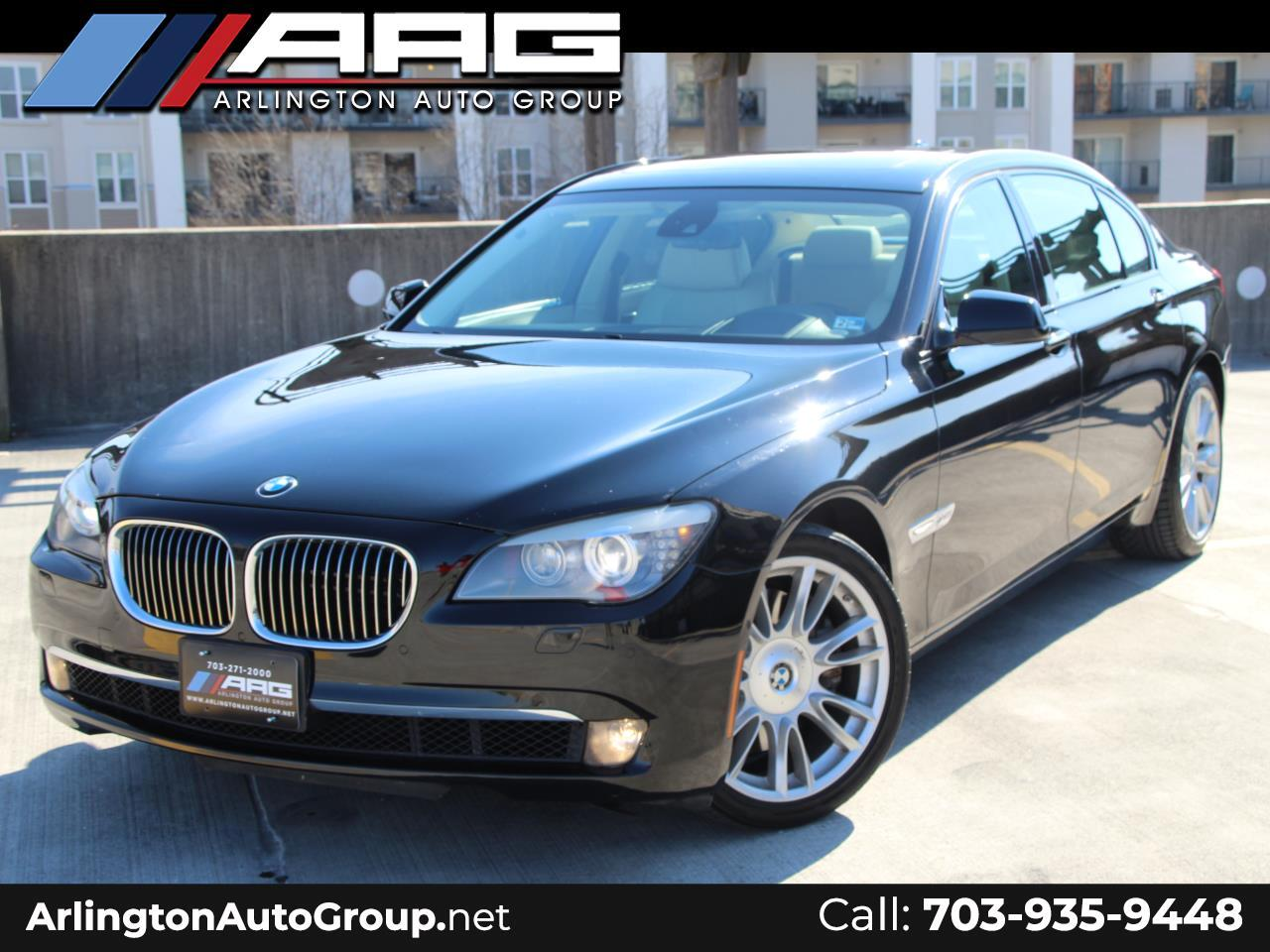 2010 BMW 7 Series 4dr Sdn 750Li xDrive AWD INDIVIDUAL EDITION