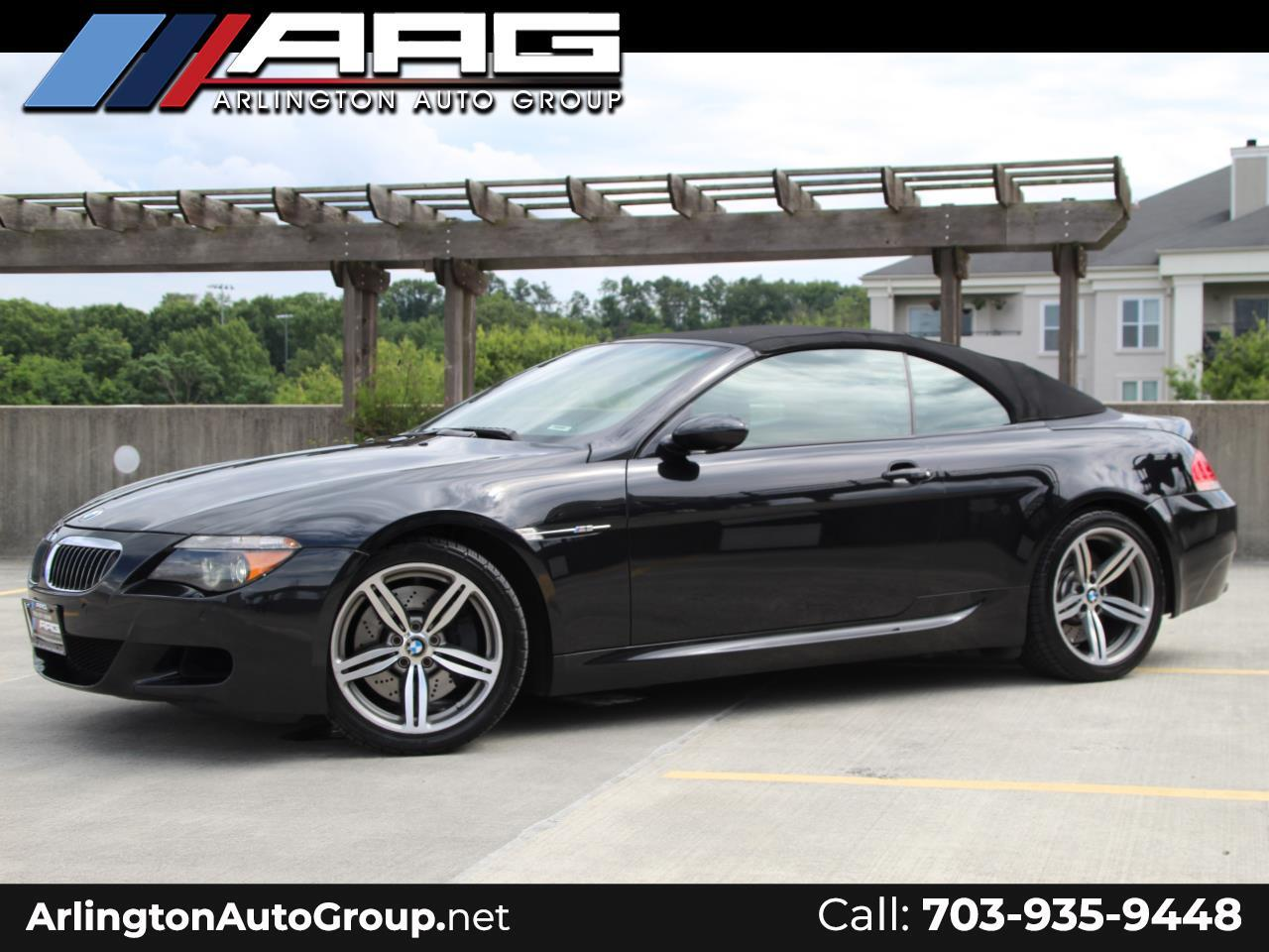 2007 BMW 6 Series 2dr Conv M6