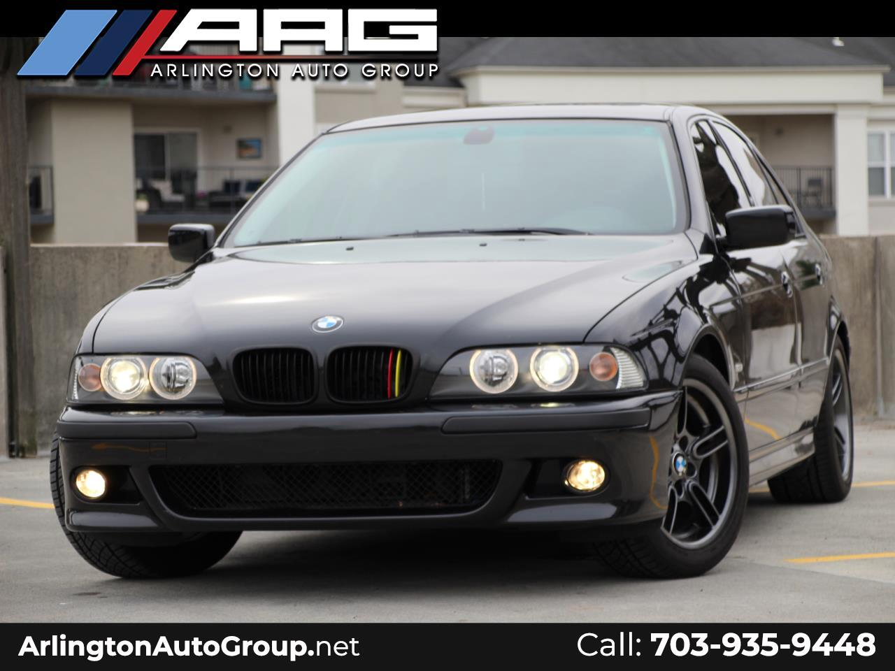 BMW 5 Series 540i 4dr Sdn 6-Spd Manual 2002