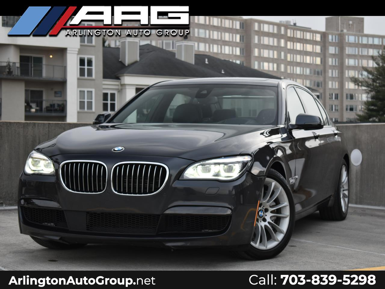 BMW 7 Series 4dr Sdn 750Li xDrive AWD 2015