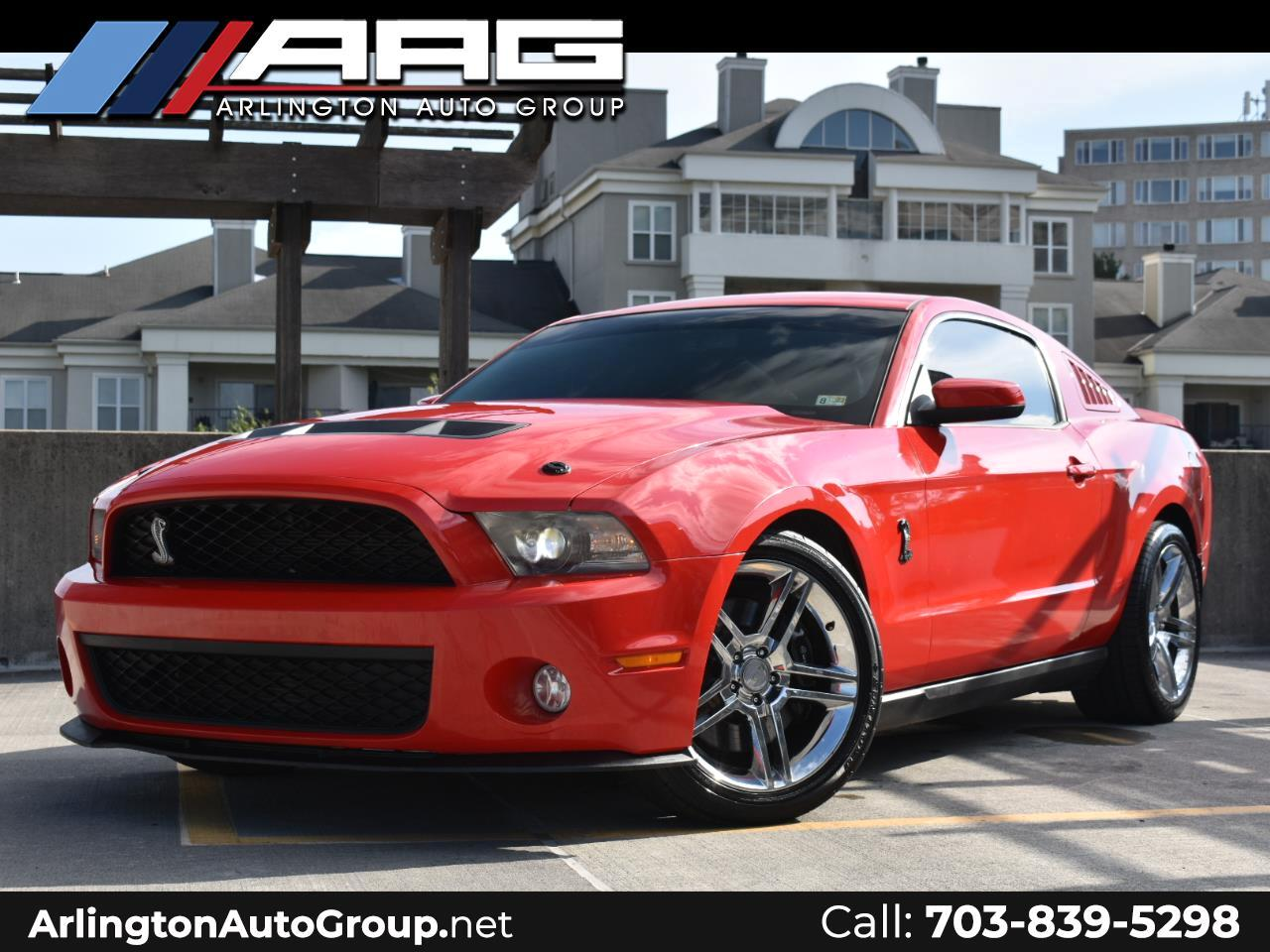 Ford Mustang 2dr Cpe Shelby GT500 2012