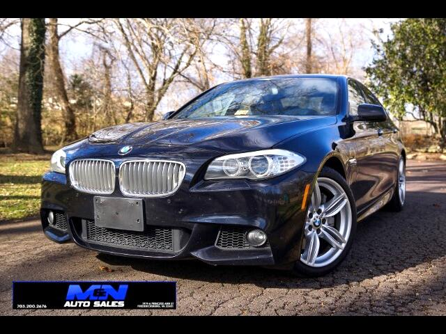 2013 BMW 5-Series 550i xDrive M Package
