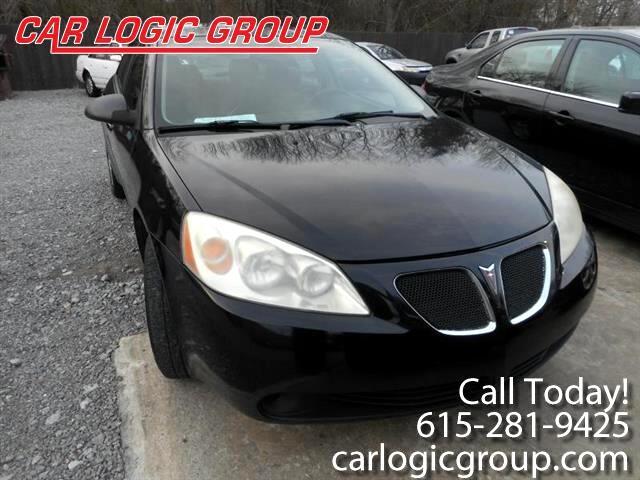 2007 Pontiac G6 4dr Sdn 1SV Value Leader