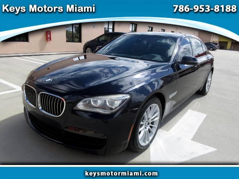 BMW 7-Series 740Li xDrive 2014