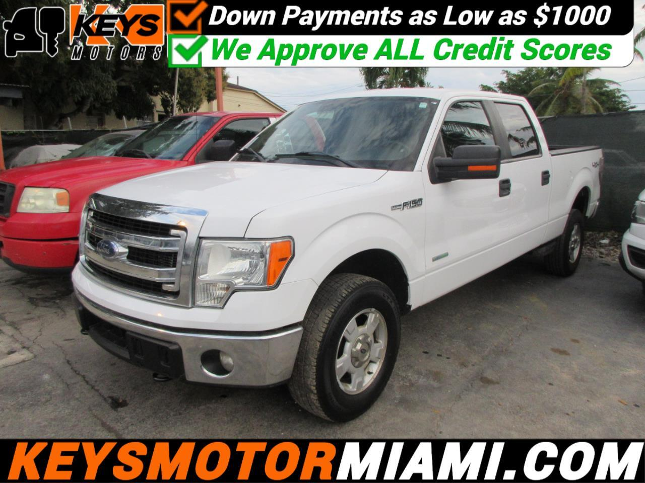"Ford F-150 4WD SuperCrew 150"" XLT 2014"