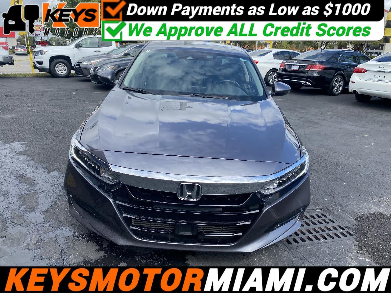 Honda Accord EX-L CVT 2018