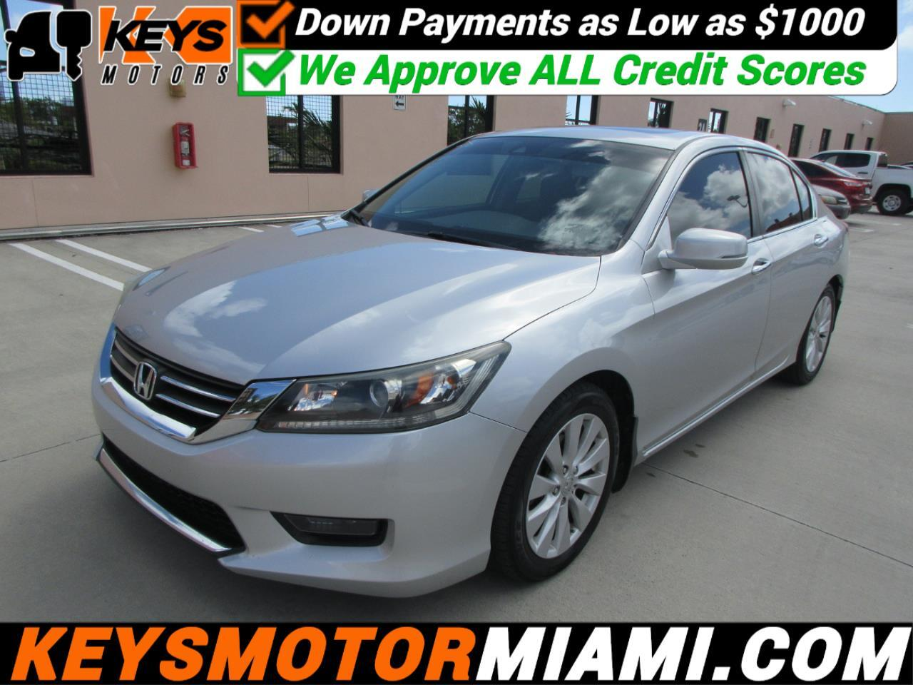 Honda Accord EX-L Sedan CVT 2014