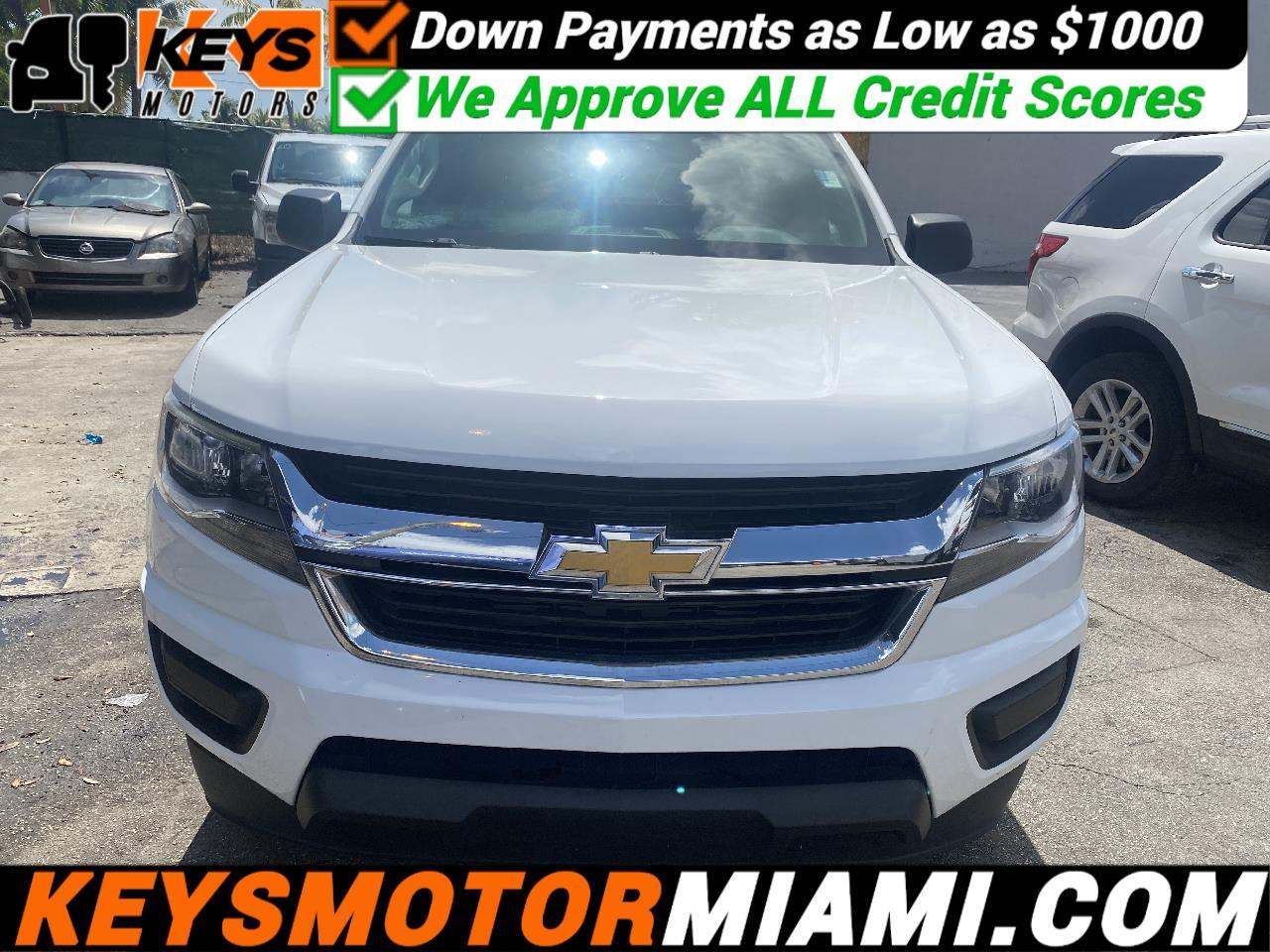 Chevrolet Colorado WT Ext. Cab 2WD 2015