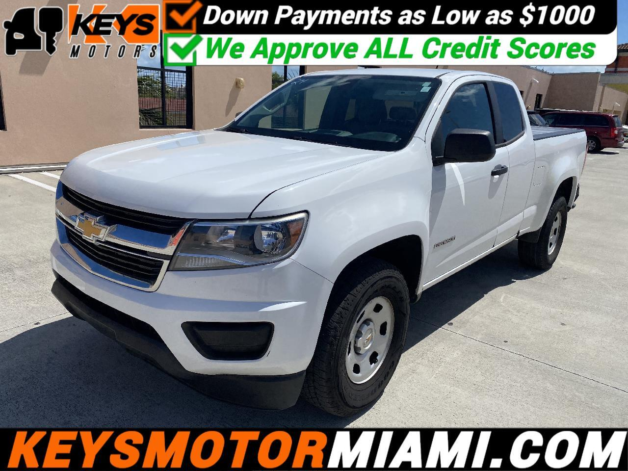 "Chevrolet Colorado 2WD Ext Cab 125.9"" LS 2016"