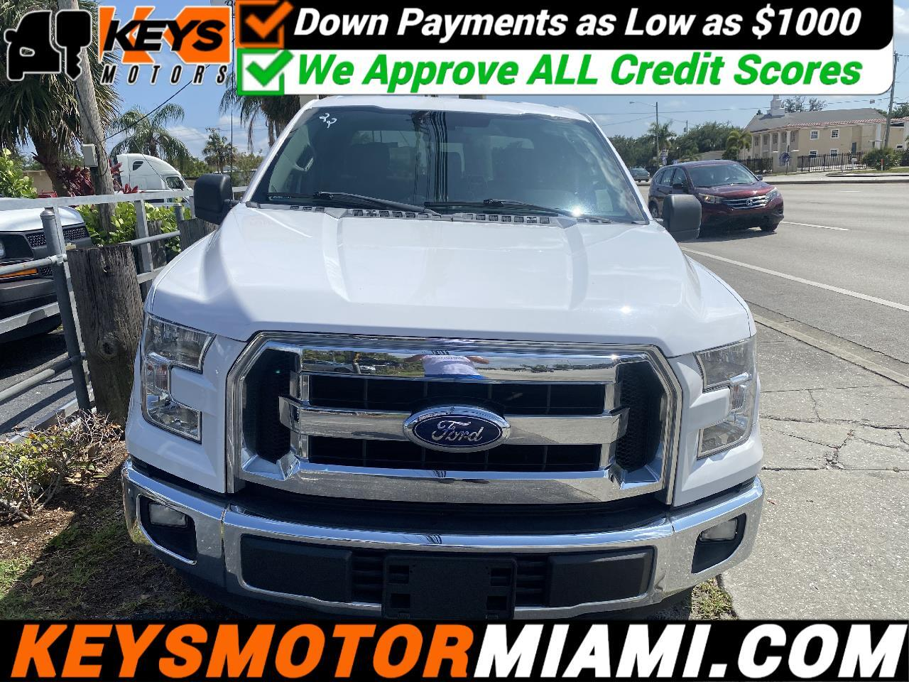 "Ford F-150 2WD Supercab 133"" XLT 2015"