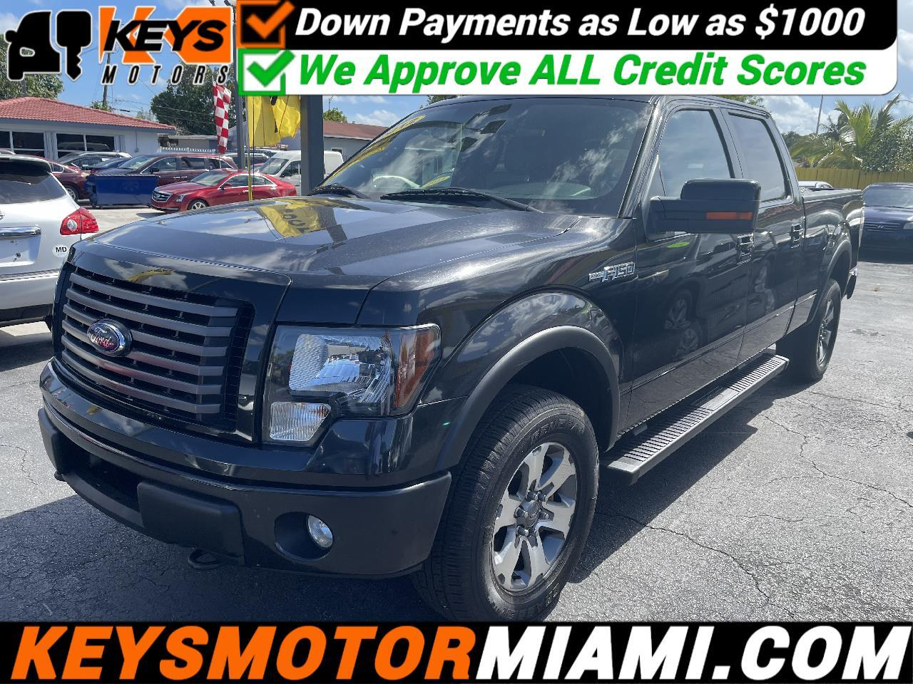 """Ford F-150 4WD SuperCab 133"""" FX4 2012"""