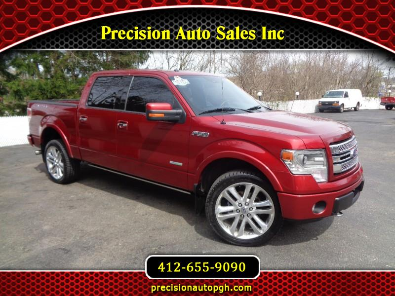 2013 Ford F-150 4WD SuperCrew 145