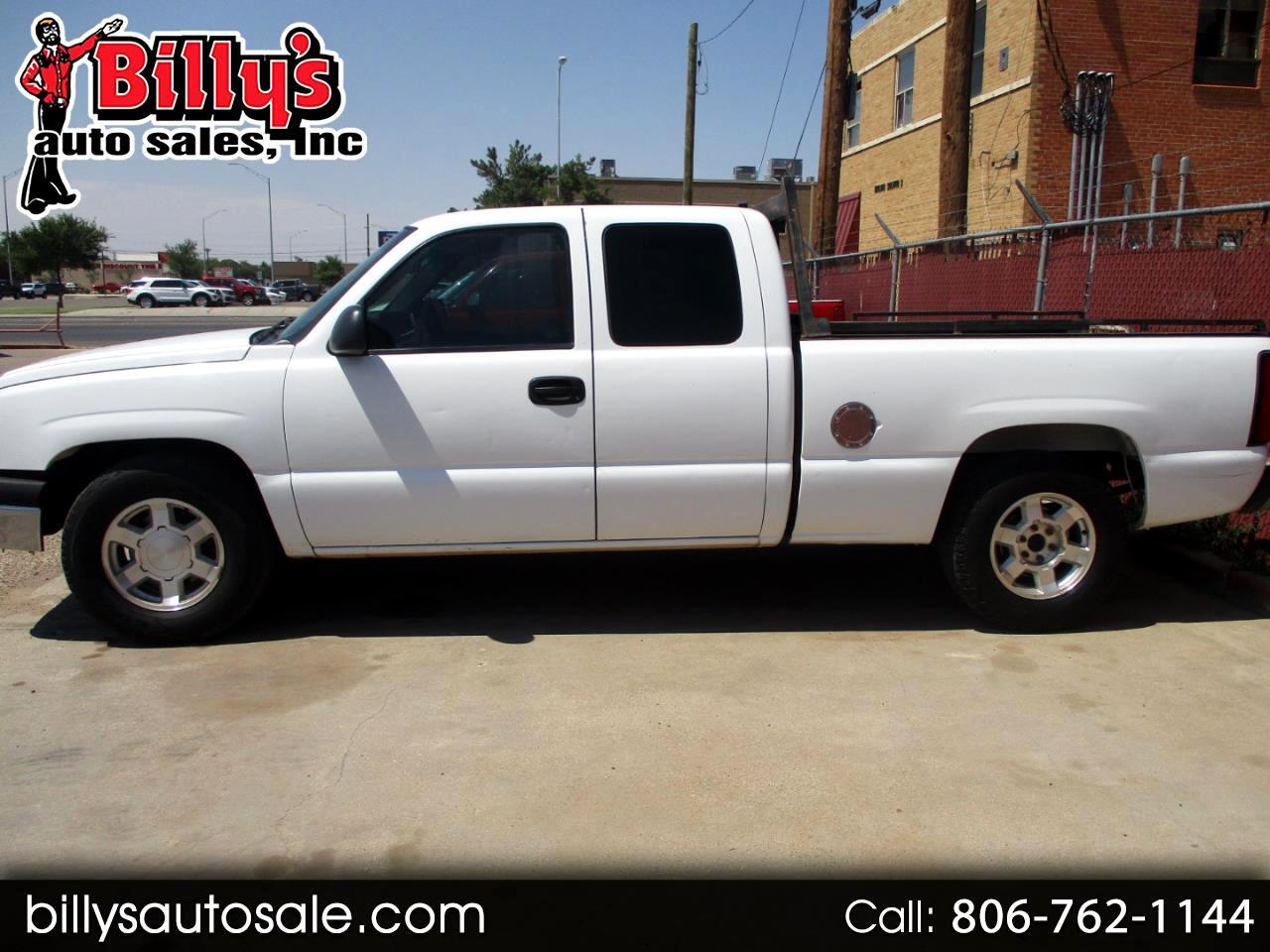 2005 Chevrolet Silverado 1500 Ext Cab 143.5