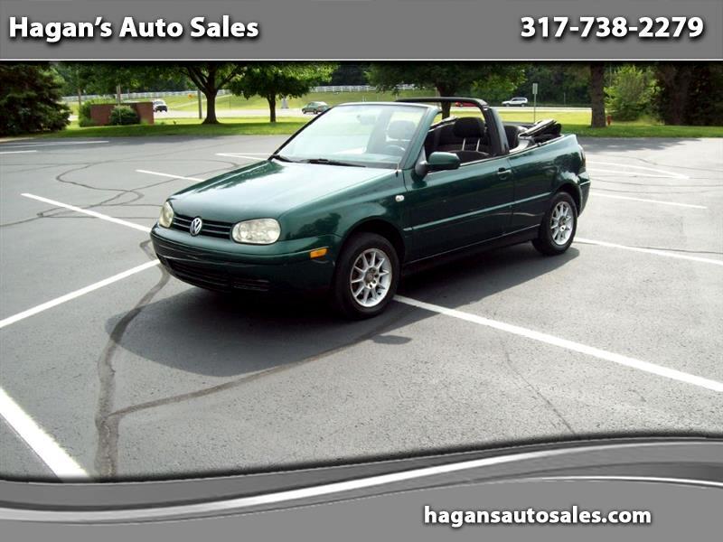 2002 Volkswagen Cabrio GLS