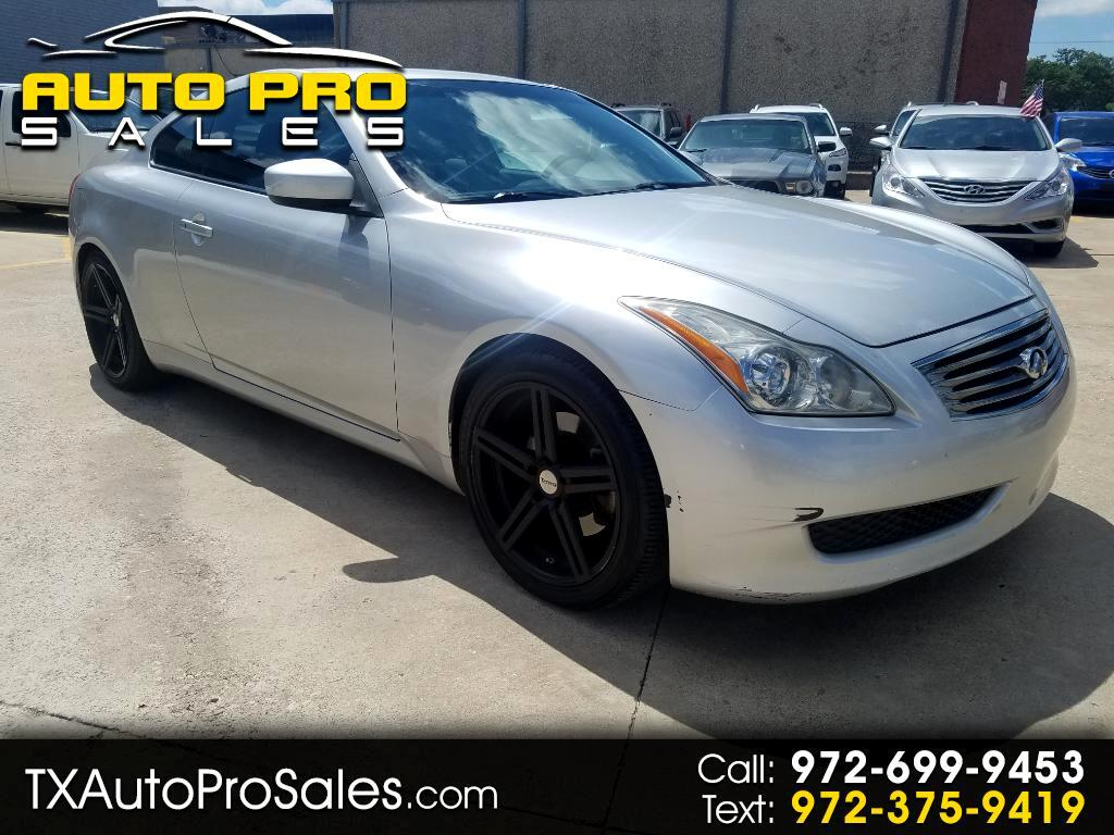 2008 Infiniti G37 Coupe 2dr Journey