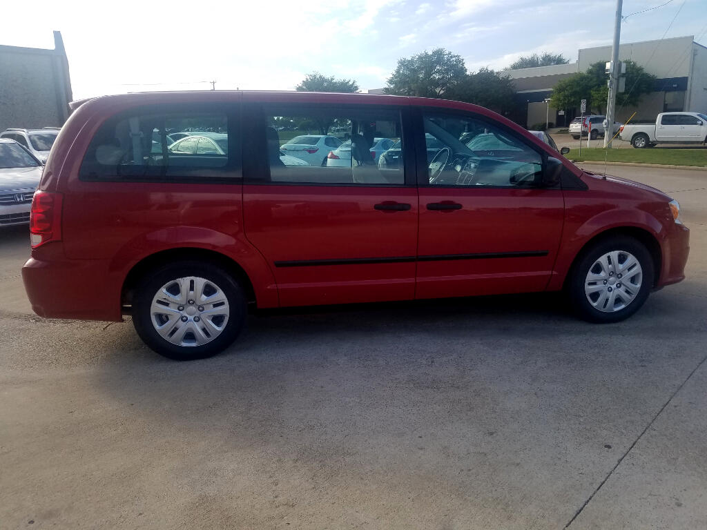 2014 Dodge Grand Caravan 4dr Wgn American Value Pkg