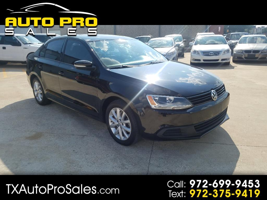 2012 Volkswagen Jetta Sedan 4dr Auto SE w/Convenience & Sunroof