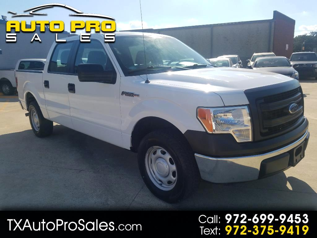 "2014 Ford F-150 2WD SuperCrew 145"" XL"