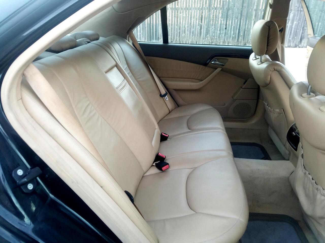 2000 Mercedes-Benz S-Class 4dr Sdn 5.0L