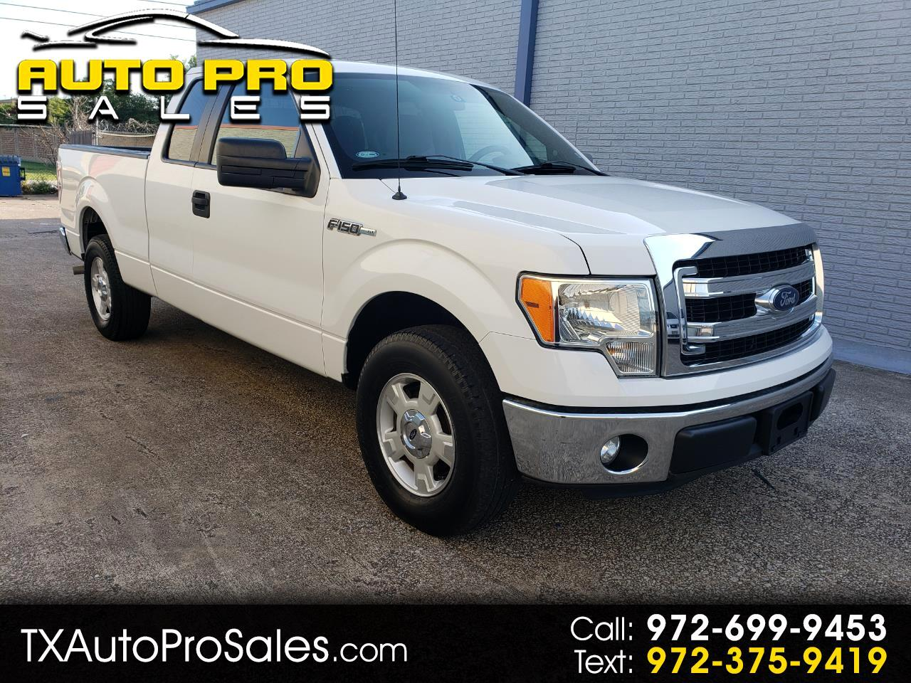 "2013 Ford F-150 2WD SuperCab 145"" XLT"